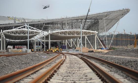 青岛铁路北站 年底前全部完工