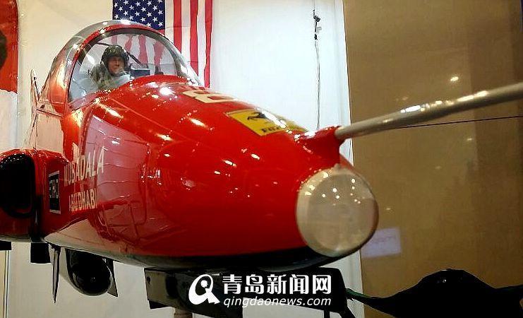 顶级玩具飞机现青岛 烧航空煤油售价15万