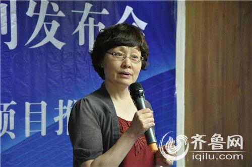 """青岛市科技局局长姜波讲到:""""要像炒股票一样炒技术""""."""