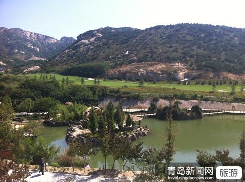 青岛茶山风景区位于山东省青岛市平度城北20公里,背依大泽山,面向