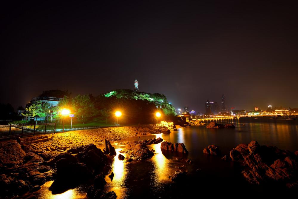 琴岛夜景 - 青岛西海岸新闻网
