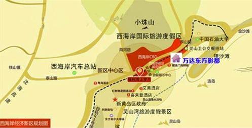 青岛影视产业园位置图