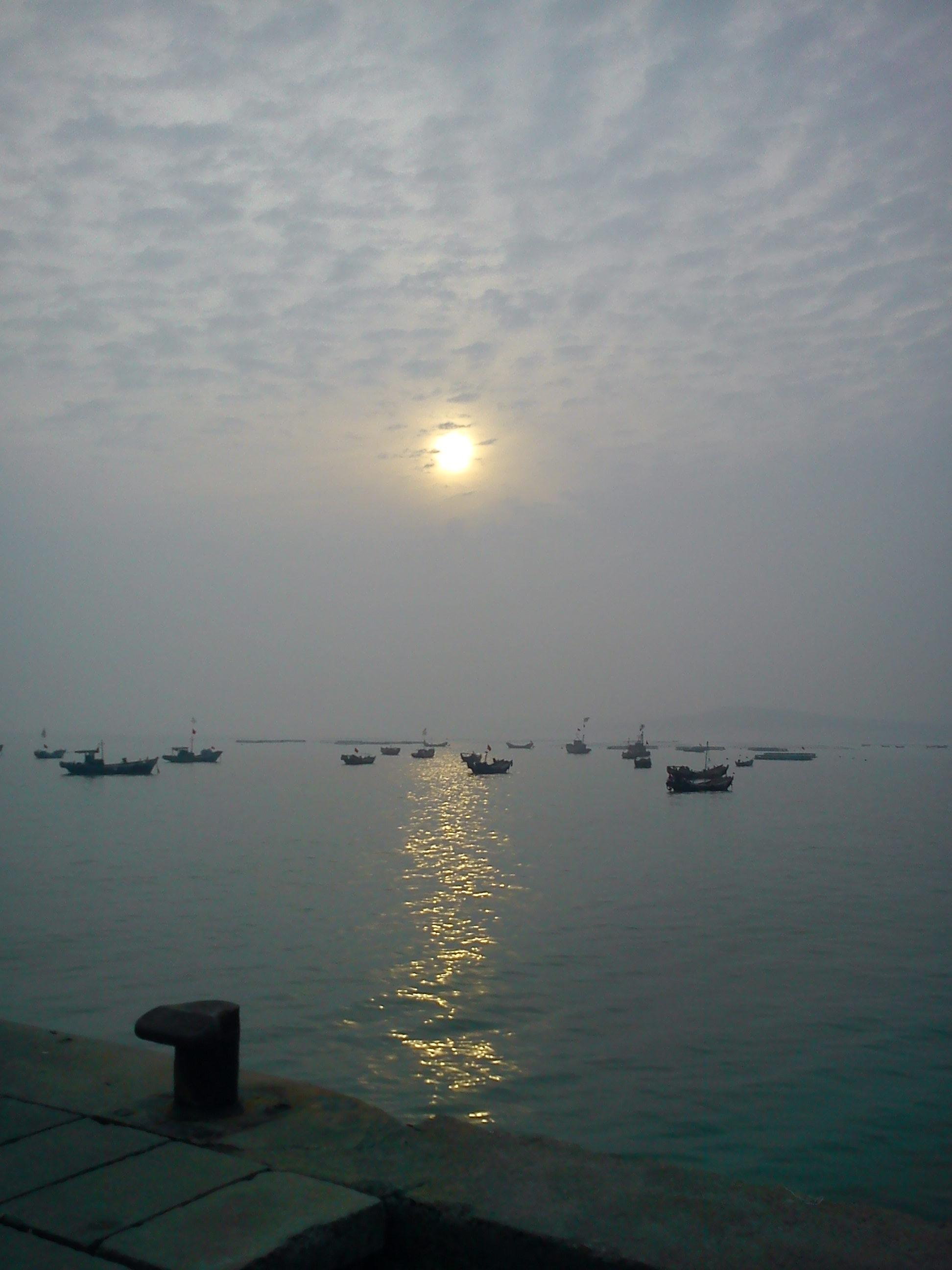 海边的黄昏-青岛西海岸新闻网
