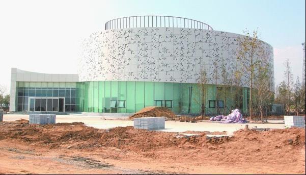 13个大项目入驻灵山湾 城市展览馆已完工(图)-青岛西