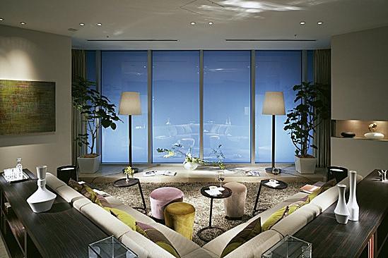 别墅空间感融入高层公寓 都市高端豪宅设计