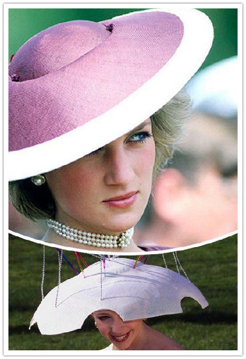 手工制作浮夸帽子