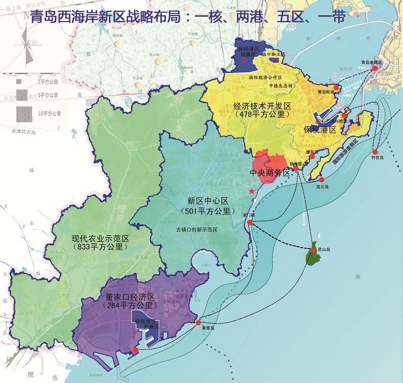 青岛市城阳区国贸地图