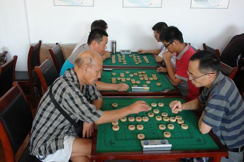 """""""博弈杯""""中国象棋比赛图片"""