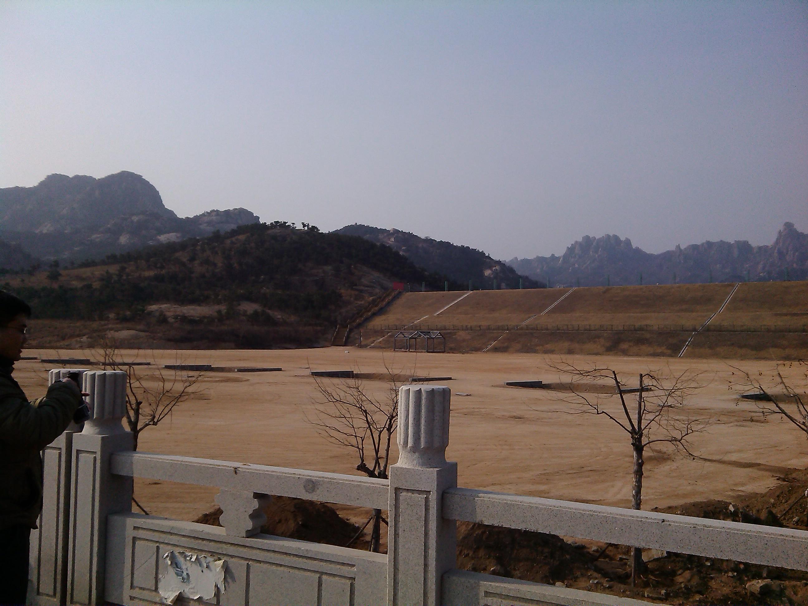 大珠山风景区整修基础设施 迎接花会