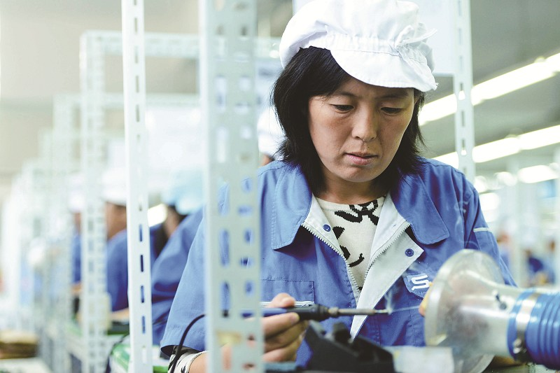 助推小微农民发展促视频家门口就业-西海青岛金马河企业图片
