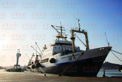 青岛沙子口渔船