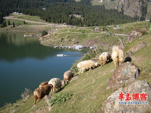 是驰名中外的以高山湖泊为中心的自然风景区.