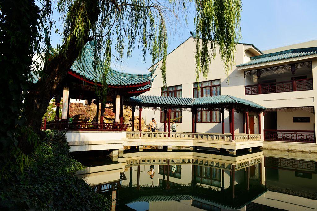 青岛的苏州园林建筑