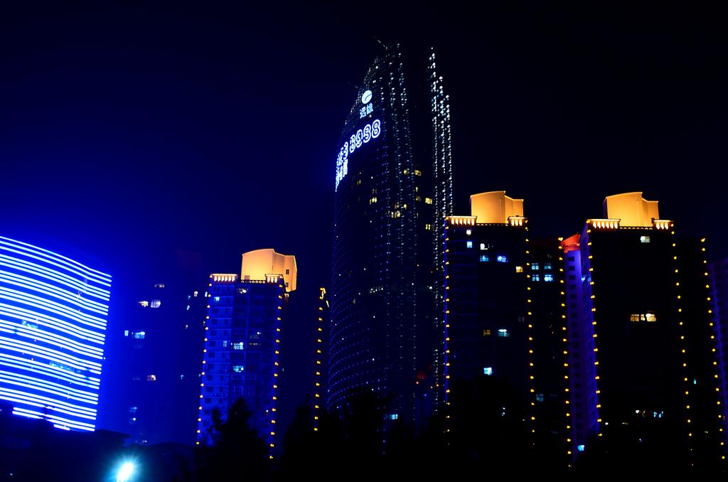 五四广场夜景-青岛西海岸新闻网