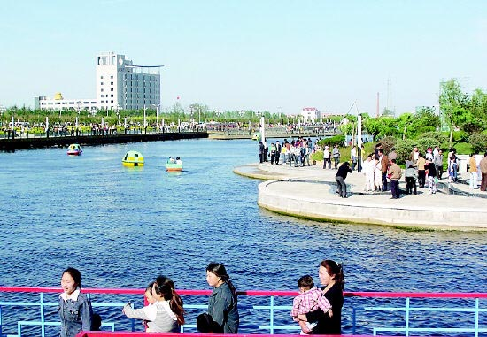 胶州三里河公园-青岛西海岸新闻网