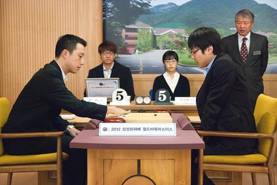 世界围棋大师赛半决赛打响图片