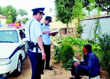 81岁老人从诸城走到新区迷路 两地警方联手找回