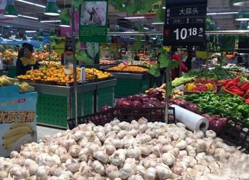 大蒜零售价格超10元/斤 赶超肉价为近年来罕见