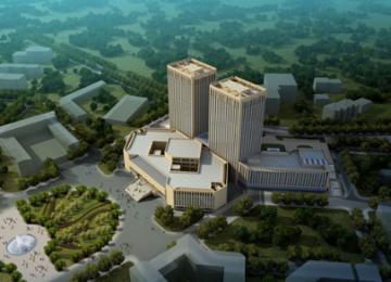 青岛大学科技研发中心项目主体封顶 2018年建成