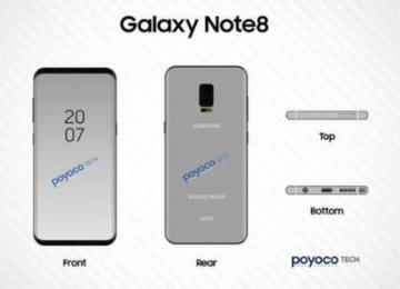 韩媒:Note 8又要抢先iPhone 8发布 锁定8月底