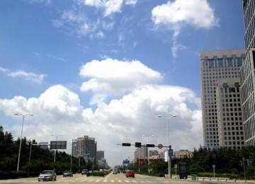 天蓝蓝!青岛春节期间空气质量优良率100%