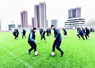 360名足球教师冲刺D级教练员