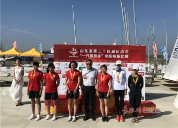 喜提15金!省运会帆船帆板决赛青岛队成最大赢家