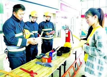 新区交通部门开展多种形式的消防知识普及活动