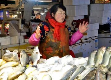 青岛大鲅鱼热销33元一斤 送老丈人需求量大