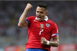 世预赛-乌拉圭3-0哥伦比亚 桑切斯2球智利胜