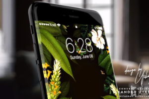 苹果iPhone 8概念机曝光:曲面屏+亮黑色