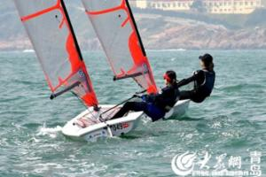 山东省帆船帆板公开赛完美收官 11个组别冠军决出
