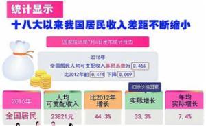 """十九大报告解读·中国经济新征程 中国不会为""""中等收入陷阱""""所困"""