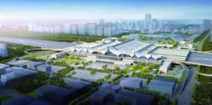 红岛站主站房建设基本完成 将成青岛第一大火车站