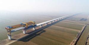 年底前完成全线线下工程 记者探访潍莱高铁平度段建设