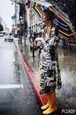 暴雨天怎么穿才时髦