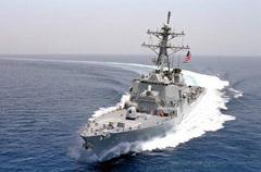 美国向南海派三艘驱逐舰