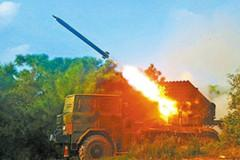 陆军新型火炮极限距离射击