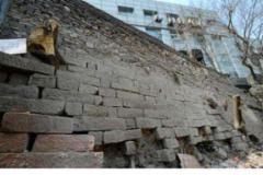 济南600多年历史古城墙露真容
