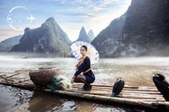 青航空姐带你游桂林