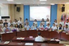九中举行双师型培养拜师仪式