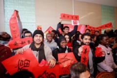 外国留学生的中国年