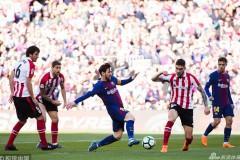 巴塞罗那2比0取胜毕尔巴鄂竞技