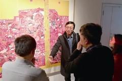 一场胶南年画展见证时代变迁