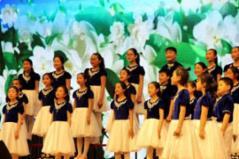 日照中小学生艺术展演活动开幕