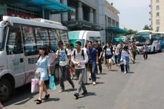 汽车总站本周将迎学生客流高峰