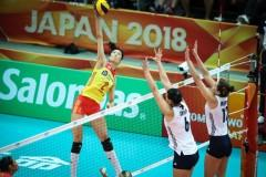 中国女排提前锁定世锦赛6强