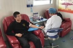 义务献血暖人心
