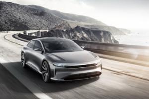 2018年投产 Lucid纯电动车Air正式发布