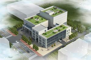 李沧图书馆档案馆开建 位于区政府东北角